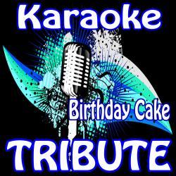 Remarkable Birthday Cake Remix Rihanna Feat Chris Brown Karaoke Tribute Funny Birthday Cards Online Drosicarndamsfinfo