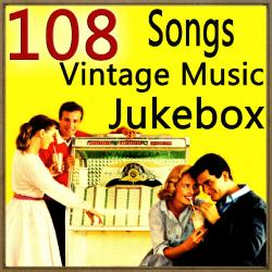 108 Songs Vintage Music Jukebox